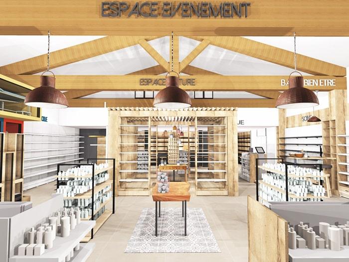 Design-espace-pharmacie-parapharmacie-pergola-mobilier-sur-mesure-merchandising-min (1)
